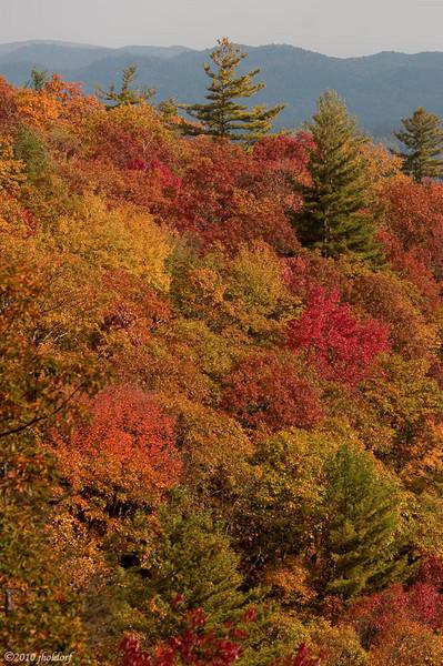 Blue Valley Overlook outside Highlands, NC