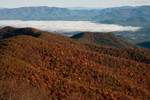 At the summit of Brasstown Bald 10/17/10