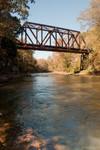 Old railroad bridge Carters Lake Regulation Dam Recreation Area 10/31/10