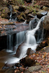 Amicalola Falls further down the trail Dawsonville, Ga.  10/31/10