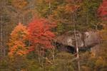At the top of Whitewater Falls Nantahala National Forest NC 10/22/10 - 10/24/10