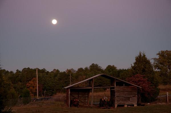 Dawn at the B&B 10/24/10