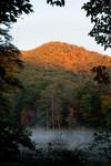 Vogel State Park at sunrise 10/17/10